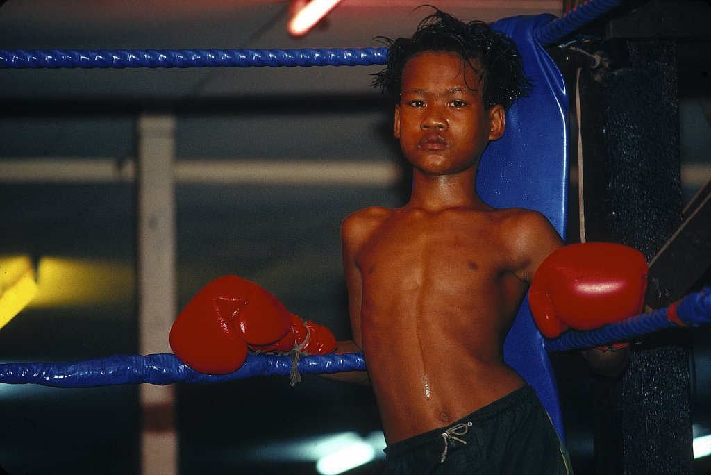 Thai Boxer in Thailand